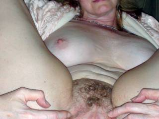I love showing off my cunt . Nothing gets me hotter than knowing someone sexy is looking at her . Would you lick my little love hole ?
