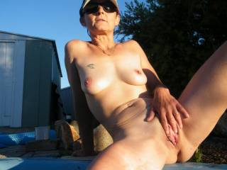 I just love how much you enjoy showing off your sexy pussy!