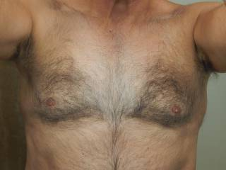Not every woman likes a hairy chest, especially when it is turning white down the middle. Any teddy bear lovers out there?