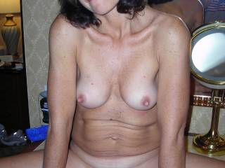 Sure sweetie...I would also love to touch and suck on those delicious nipples, then lock my mouth on your plump meaty pussy lips and, suck on them for ever. What juicy, wet pussy...delicious.  G