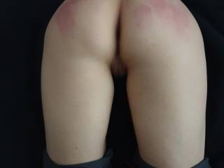 My red butt after some foreplay...