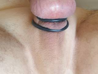Just enjoying my cock rings and butt plug. Do you enjoy playing with them ?