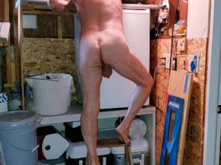 working around in the garage naked as usual. My garage door was open and the neighbor guy saw me . Saw him walking by the side of his house a bit more often. To the left of this picture.    https://www.zoig.com/view/10965275