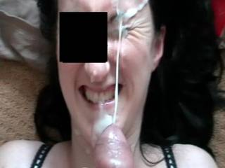 Fucking awesome ~ what a cum shot. Would you like some more - I am pretty good at spraying sexy ladies with my cum!!!