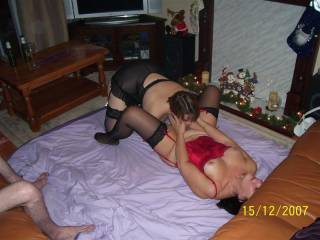 slut wife playing with her hot friend