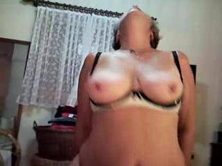 what a beautiful lady.....some of the best tits I've ever seen.....would love to be under her playing with them...mmmmmmm