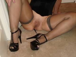 like my new heels?