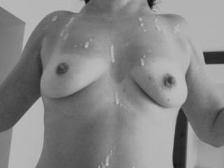 I would be too if I could jack off on those perfect tits......