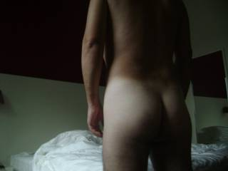 """Can I lick that nice backside of yours and fill it to the brim with this 8"""" cock and make you squeal like a pig"""