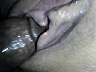 After a good long pussy licking, I wanted the wifey to feel me feed her pussy my cock nice and slowly. No cum shot in this clip, but I can assure you it ended with a wet and warm Creampie.