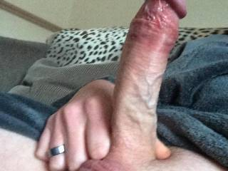 Hottt! Would love for you to fuck me with that sexy cock right in front of my cuck BF! Then we can make him lick both of us clean after you unload your hot cum in my tight little pussy ;) Grab his head and have him lick your balls and tongue your asshole while you're stretching me out from behind :)