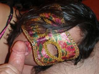 Giving hubby an erotic blowjob!