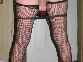 Fucking hell, you look brilliant in this pose, pussy ready to be licked to several orgasms and panties in the perfect position, one again thanks!