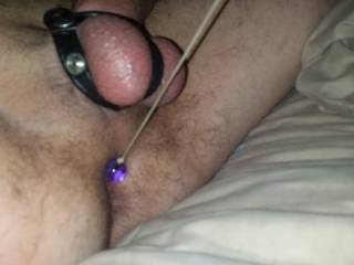 Anal beads on a string