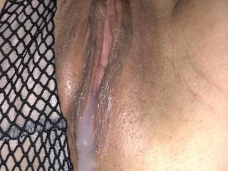 Sometimes one cock is not enough. My lady is itching for another one!