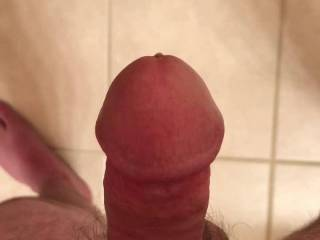 So hard my cock is throbbing. Precum instantly.  Need to blow my load.