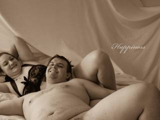 Just a fun sexy pic with my beautiful wife.