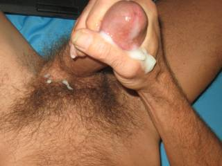 Cumming is wonderful. Taking a picture while cumming is not easy as the sensations stroking a cum covered cock head are overwhelmingly distracting. Even pressing a button becomes a major task when your cock is in complete control.