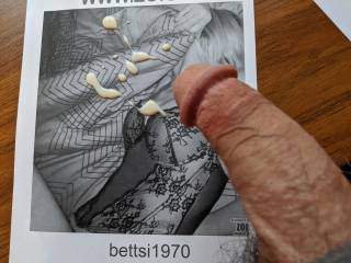 bettsi1970 is so sexy, I want my cum all over her hot body! Do you want it too?