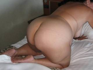 I love your beautiful round ass. Makes my cock so hard.