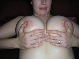 Please wrap those amazing titties around my hard cock...