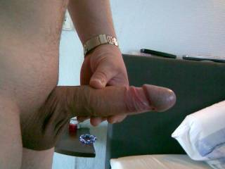 Mmmm such a nice cock..my mouth and pussy would be very happy!