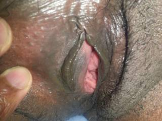I wish my tongue was in this picture too.....  I'd love to taste your sweet cum as I lick you to orgasm.