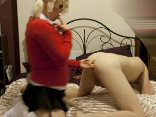 Naughty school girl cock sounds so good right now !!