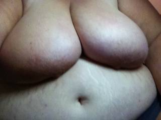I would love to get my cock between those gorgeous tits for a nice titty-fuck.