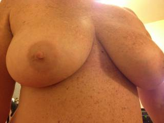 So how big can we get those nipples if I were to orally pleasure them for a couple of hours? Mr. M