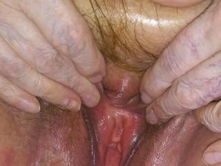 Spread open wide for you! Hope to have some tributes from you horny guys showing what I\'m about to get into! Or what\'s about to get into me! Post them and pm me so I can see!