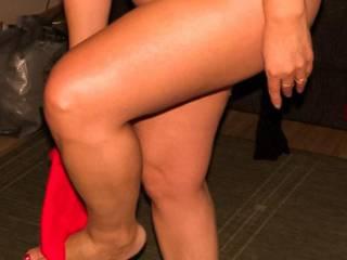 Do you like her legs?