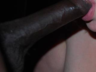 Getting my dick sucked.