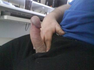 I wouldn't mind sitting on that cock! Love feeling a cock buried deep inside of me!