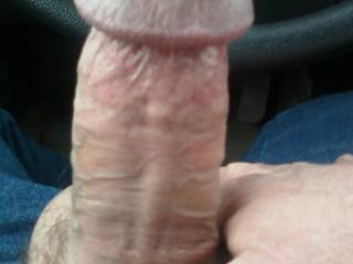 Wife sent me a picture of her wet little pussy and she wanted to see my cock ! what would you have done