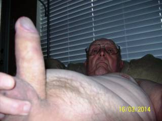 nice fat mature cock you have--bi-cur likes it