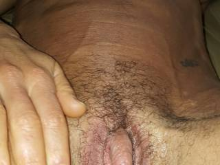 Makes my Dick hard thinking about sucking that big beautiful clit!!!!!!!!