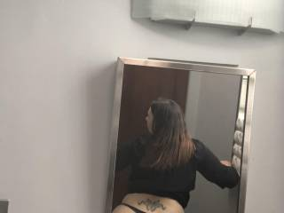 Quick pic of the phat ass while at work