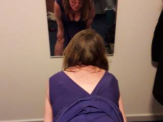 Who wants to pull my knickers down and do me right here in this position in front of the mirror?