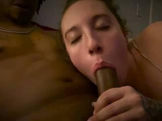 Working on her deepthroat.. what u think?
