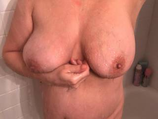 ever thought about fucking my wifes big tits