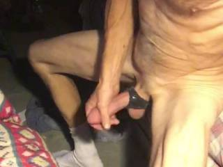 Tryn out new Oxballs cock and balls holder and it's super comfortable…