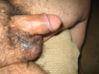 I would just love to smear and rub that sweet,outstanding load all over my face and goatee.  Super, uber hot!!!