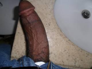 Resting my big black dick