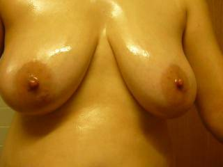 loves her tits fucked and a load on her face