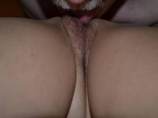 Licking a great pussy