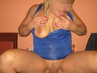 Suck those hot tits that makes me so hard!