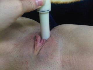 Of course when you get done with that toy I would love to feel my cock taking the toys place, nice and deep. I would love to watch you first thouugh.