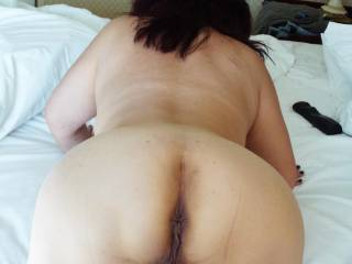 CUM all over this fucking horny ass
