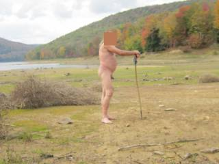 Naked is the great outdoors. Great to feel the sun on my body
